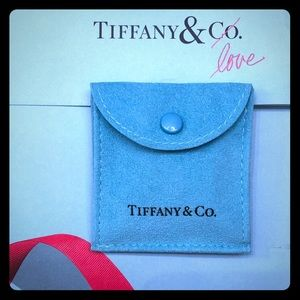 Tiffany & Co. crescent moon earrings. NEW Auth